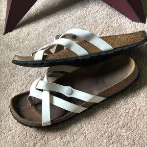 Birkenstock Betula White Sandals